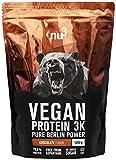 nu3 Vegan Protein 3K Proteine Isolate Vegetali in Polvere 1 kg - Polvere Proteica con Proteine da...