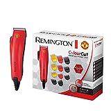 Remington HC5035 Colour Cut Tagliacapelli 11 pettinini, forbici, pettine e spazzola per il collo,...