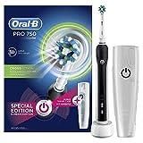 Oral-B PRO 750 CrossAction Spazzolino Elettrico Ricaricabile, Bonus Pack, Versione Vecchia,...