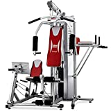 BH Fitness Global Gym Titanium G152X, Multistazione di allenamento con leg press, flessore...
