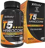 T5 Hardcore brucia grassi potenti veloci per Uomini & Donne Contenente L-Tirosina, Cromo, Vitamina...