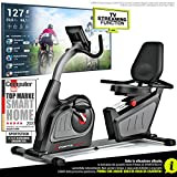 Sportstech ES600 Cyclette ergometro reclinabile Professionale - Marchio di qualità Tedesco - Eventi...