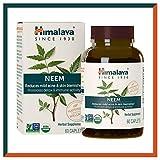 Himalaya USDA Compresse di Neem | Rimedio per l'acne e brufoli | Promuove la disintossicazione e...