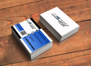 Business card graphic design creation innovative ideas