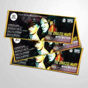 Party flyers design leaflets brochure marketing