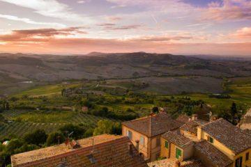 posti per passare estate in italia tramonto