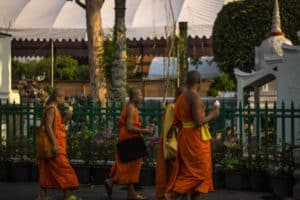 monks rituals for muay thai