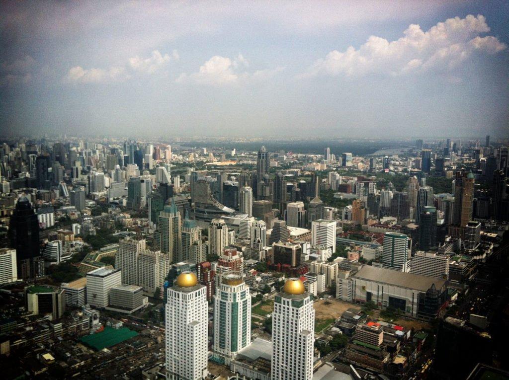 bangkok Pratunam view from Bayoke Sky