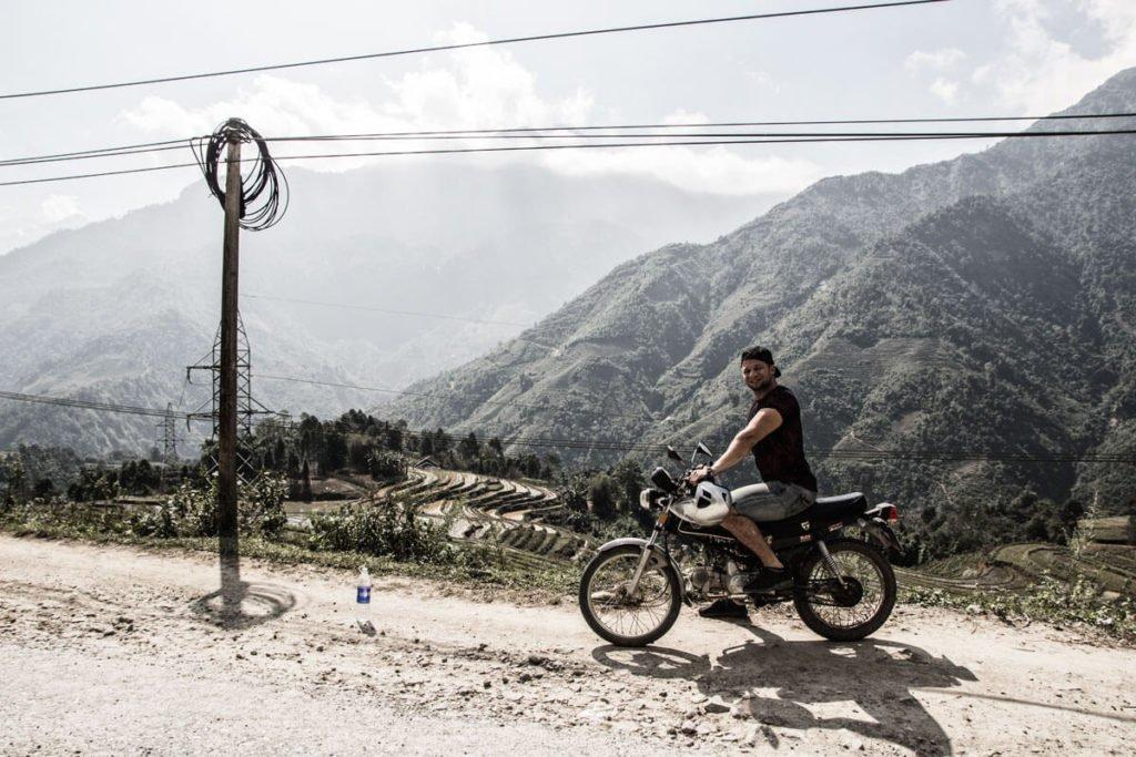 come affittare una moto per girare il Vietnam