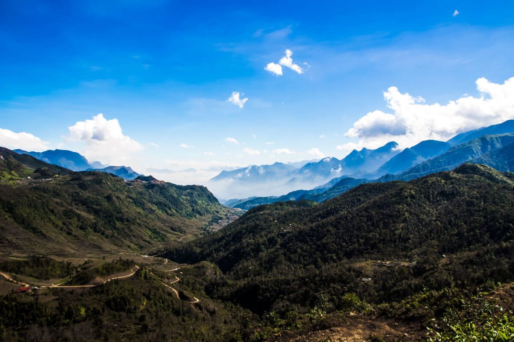 Sapa mountains vietnam