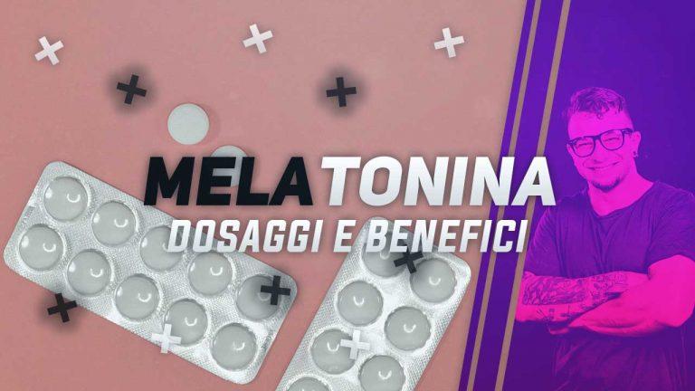 melatonina per dormire, dosaggi e benefici