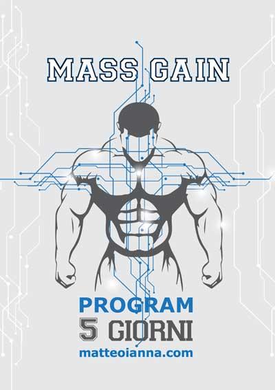 programma massa muscolare