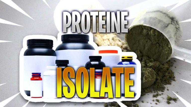 proteine isolate