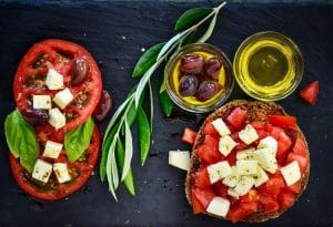 La dieta mediterranea per la memoria