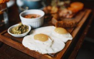 Dieta delle uova: esempio del menù settimanale