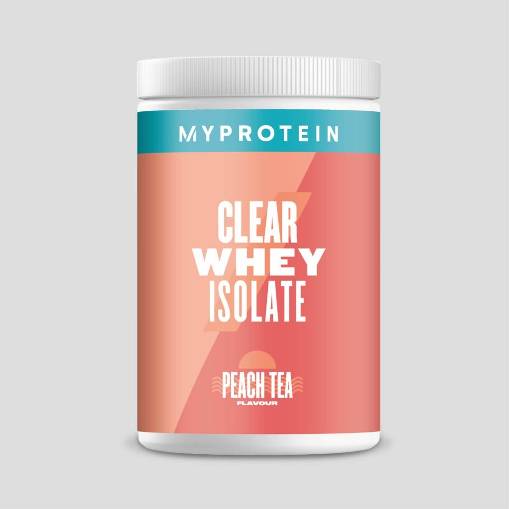 clear whey isolate myprotein