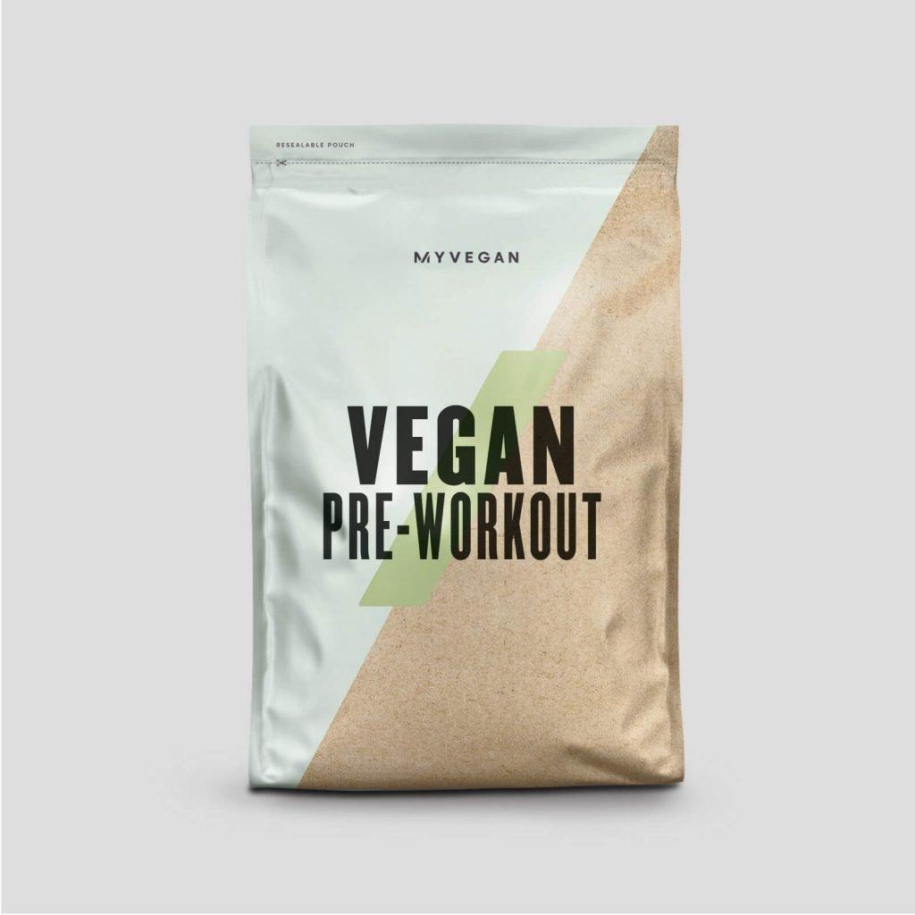 pre allenamento vegano myprotein